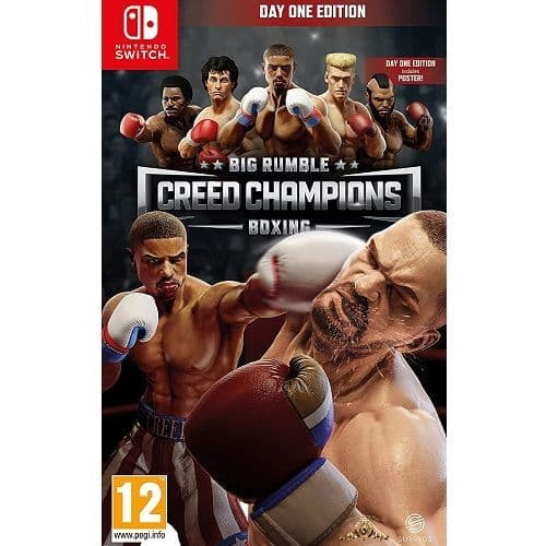 Big Rumble Boxing Creed Champions Nintendo Switch Game